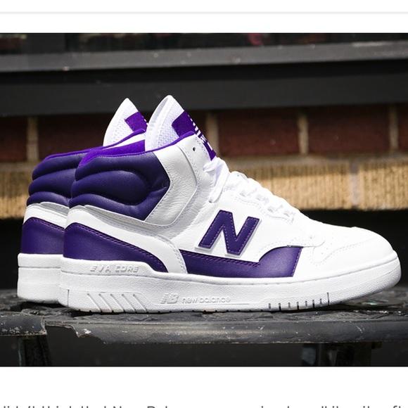 """b3edbdc1aee0 Brand New - James Worthy NB P740 """"Lakers"""" Sneaker"""